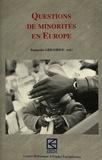 P Grigoriuo - Questions de minorités en Europe.