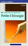 P Klaue - Checklist petite chirurgie.
