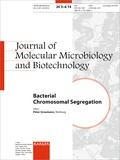 P-L Graumann - Bacterial Chromosomal Segregation - Special Topic Issue: Journal of Molecular Microbiology and Biotechnology 2014, Vol. 24, No. 5-6.