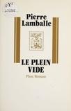P Lamballe - Le Plein vide.