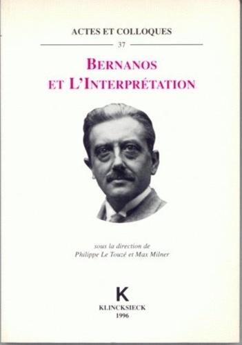 P Le Touze - Bernanos et l'interprétation.