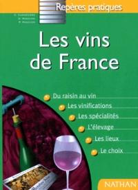 P Madevon et C Carmenere - Les vins de France.