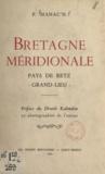 P. Manac'h et E. Coarer-Kalondan - Bretagne méridionale - Pays de Retz, Grand-Lieu.