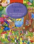 P'tit Loup et Jordi Busquets - Légendes de la forêt - Fées, dragons, gnomes et autres créatures.