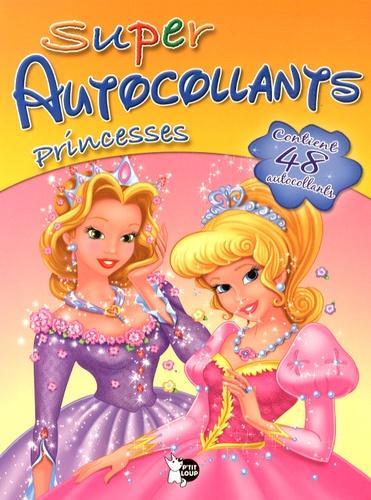 P'tit Loup - Super autocollants Princesses.