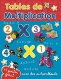 P'tit Loup - Tables de multiplication - Avec des autocollants.