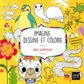 Pablo Gamba - Imagine, dessine et colorie - Les animaux.