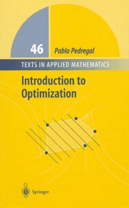 Pablo Pedregal - Introduction to optimization.