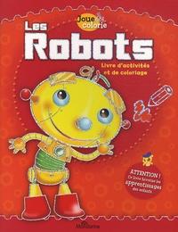Pablo Zamboni - Les robots - Livre d'activités et de coloriage.