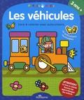 Pablo Zamboni - Les véhicules - Livre à colorier avec autocollants, 3 ans et +.