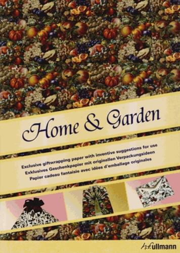 Packo Jansen - Home & Garden - Papier cadeau fantaisie avec idées d'emballage originales.