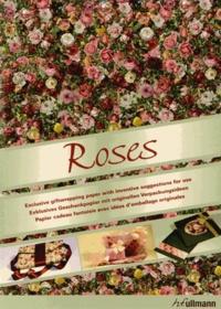 Deedr.fr Roses - papier cadeau fantaisie avec idées d'emballage originales Image