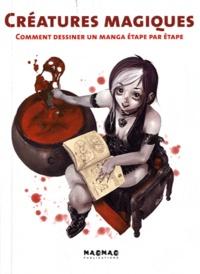 Paco Asensio - Créatures magiques - Comment dessiner un manga étape par étape.