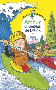 Jean-Philippe Chabot et  Pakita - Arthur champion de kayak.