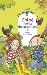 Jean-Philippe Chabot et  Pakita - Chloé adopte des escargots.