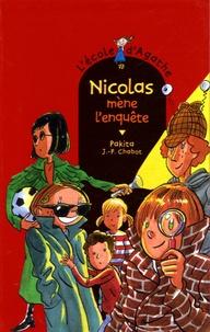 Pakita - L'Ecole d'Agathe Tome 39 : Nicolas mène l'enquête.