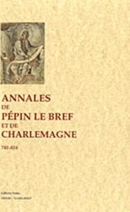 Paleo - Annales de Pépin Le Bref et de Charlemagne (741-814).