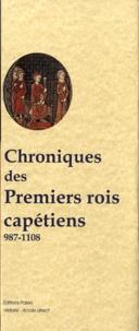 Blackclover.fr Chroniques des premiers rois capétiens 987-1108 Image