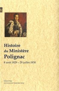 Histoire du ministère Polignac - 8 août 1829-29 juillet 1830.pdf