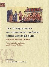 Paleo - Les Enseignements qui apprennent à préparer toutes sortes de plats - Recettes de cuisine du XIVe siècle.