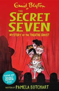 Pamela Butchart et Enid Blyton - Mystery of the Theatre Ghost.