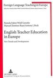 Pamela Faber et Manuel Jiménez raya - English Teacher Education in Europe - New Trends and Developments.