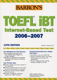 Pamela-J Sharpe - How to prepare for the TOEFL IBT 2006-2007.
