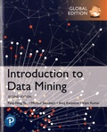 Pang-Ning Tan et Michael Steinbach - Introduction to Data Mining: Global Edition.