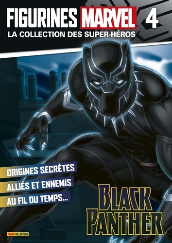 Panini - Figurine Black Panther nº4.