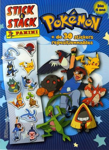 Panini - Pokémon - + de 30 stickers repositionnables.