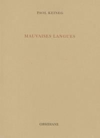 Paol Keineg - Mauvaises langues.