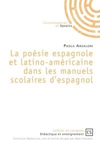 Livres Epub liens de téléchargement La poesie espagnole et latino-americaine dans les manuels scolaires d'espagnol