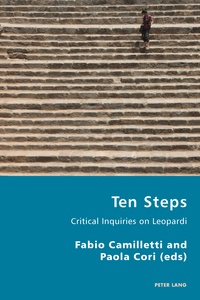 Paola Cori et Fabio Camilletti - Ten Steps - Critical Inquiries on Leopardi.