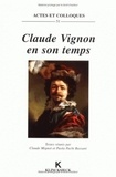 Paola Pacht-Bassani et Claude Mignot - Claude Vignon en son temps - Actes du colloque international de l'Université de Tours, 28-29 janvier 1994.