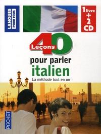 Paolo Cifarelli et Pierre Noaro - 40 leçons pour parler italien. 2 CD audio
