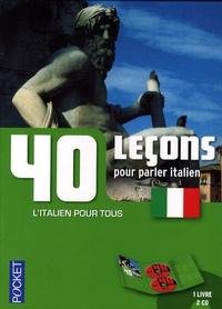 Paolo Cifarelli - 40 Leçons pour parler italien. 2 CD audio