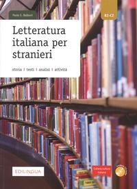 Paolo Ernesto Balboni - Letteratura italiana per stranieri B2-C2. 1 CD audio