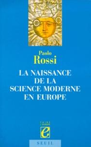 Deedr.fr La naissance de la science moderne en Europe Image