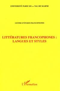 Littératures francophones : langues et styles - Papa Samba Diop | Showmesound.org