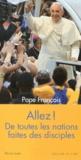 Pape François - Allez ! De toutes les nations, faites des disciples - Les 28e Journées mondiales de la Jeunesse, Rio de Janeiro, du 23 au 28 juillet 2013.