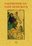 Pape Honorius - Grimoire du pape Honorius.