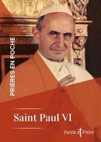 Pape Paul VI - Prières en poche - Saint Paul VI.