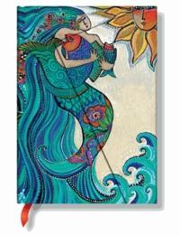 PAPERBLANKS - Carnet Chant des Sirènes 13x18 ligné