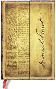 PAPERBLANKS - Carnet Les Manuscrits 10x14 Proust A la recherche du temps perdu ligné