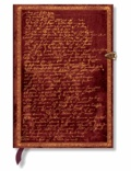 PAPERBLANKS - Carnet Les Manuscrits 13x18 Shakespeare ligné