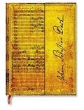 PAPERBLANKS - Carnet Les Manuscrits 18x23 Bach ligné