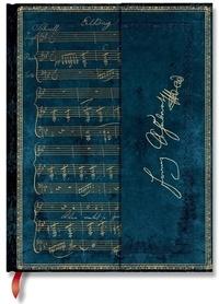 PAPERBLANKS - Carnet Les Manuscrits 18x23 Schubert Erlkonig ligné