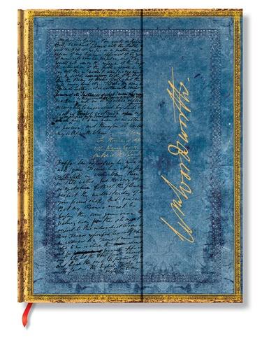 PAPERBLANKS - Carnet Les Manuscrits 18x23 Wordsworth ligné