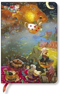 PAPERBLANKS - Carnet Merveilles et Imagination 12x17 Imagination ligné
