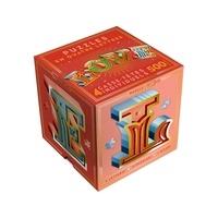 Papier cadeau - Puzzle Love - 4 casse-têtes lettres.